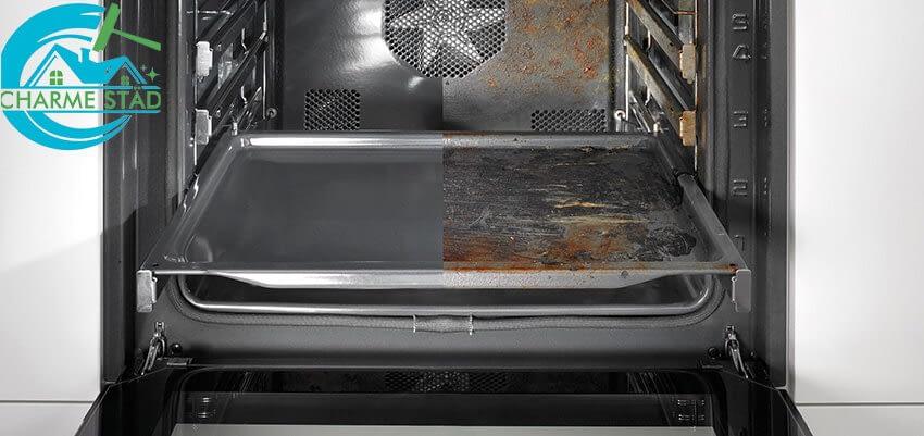 Använd inte aluminiumfolie för att skydda nere i ugnen