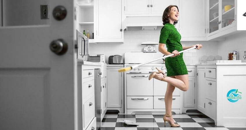 Tips för att spara tid när det kommer till rengöring av köket