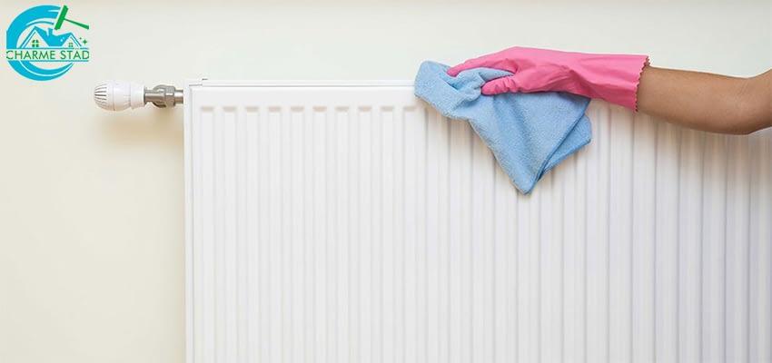 Hur kan man på enkla sätt rengöra element under sommaren?