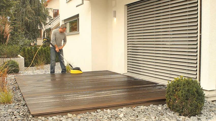 Rengöring av terrazzo golv