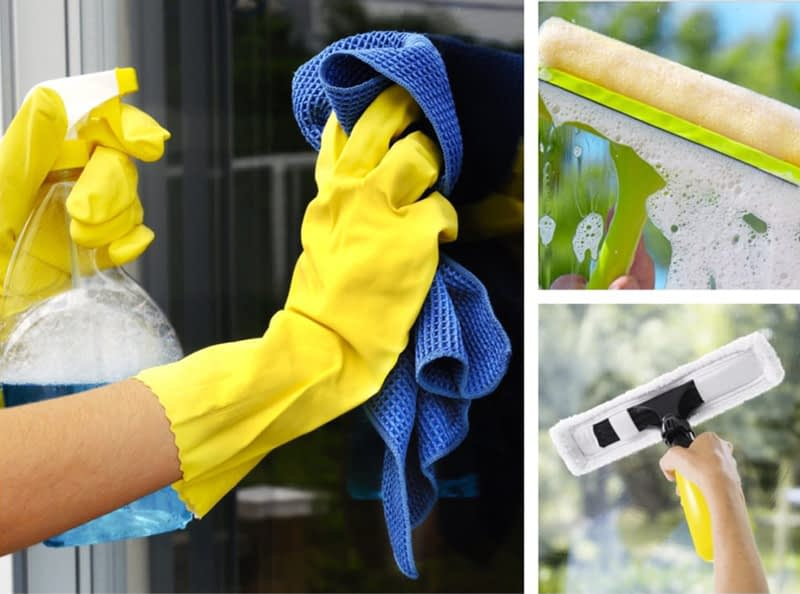 Den ultimata guiden för rengöring av dina fönster