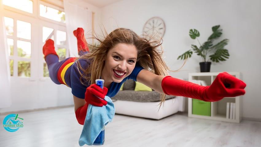 Pretty woman superhero