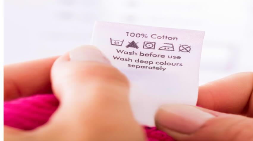 Kan du se ifall dina kläder är lämpliga för torktumlaren innan du sätter igång med torken