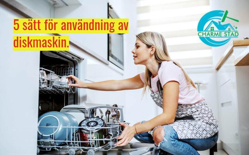 Hur man tvättar diskmaskinen