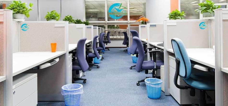Hur kan de anställda bli mer friska på jobbet om du beställer städning Office