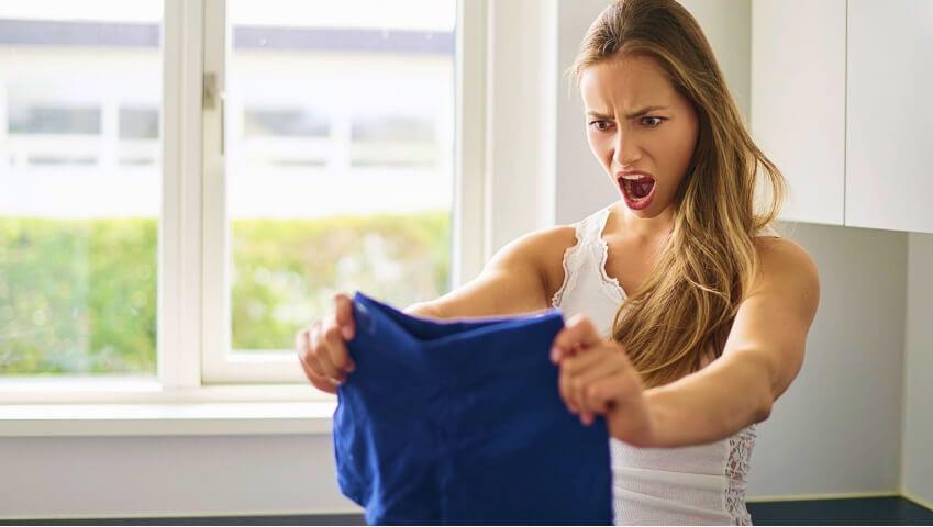Varför krymper kläderna i torken?Charme städ