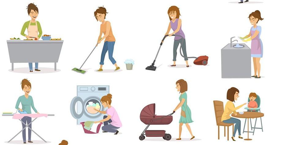 När är den bästa tiden på dagen att göra husarbetet